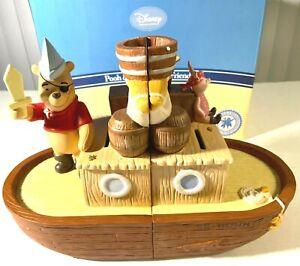 DISNEY Bookends Winnie POOH Piglet Bountiful Adventure ENESCO Gift of Friendship