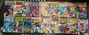 Hands Of Shang Chi Master Of Kung Fu total 18 Marvel Comics