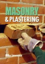 Masonry & Plastering (Crowood DIY)-ExLibrary