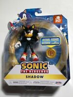 "2021 Jakks Pacific 30th ANNIVERSARY Sonic the Hedgehog - SHADOW 4"" w/Super Ring"