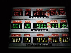 Time Circuit Back To The Future lightbox usb