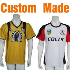 Custom Made Soccer Shirts Touch Footy Shirts Shorts Sublimated