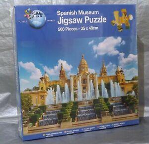 Puzzle World Spanish Museum 500 Piece Jigsaw Puzzle Fun Sealed