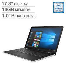 NEW HP 17-bs025cl Laptop i7 16GB Memory 1TB HDD 1080p