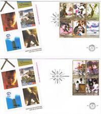 Nederland 2004 NVPH E507 1+2 / FDC 507 1+2 - Decemberzegels met Toeslag