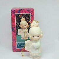 Enesco Precious Moments Collection But The Greatest Of These is Love 1992 527696