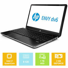 "15.6"" HP Envy DV6-7301EX, Intel i7 up to 3.40GHz, 1TB, 8GB, GeForce, Laptop"