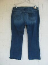 WOMEN'S LEVIS JEANS SIZE 16 SMALL 515 BOOT CUT STRETCH PRE OWNED