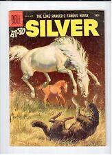 Dell The Lone Ranger Famous Horse HI-YO SILVER #19 July-Sept 1956 vintage comic