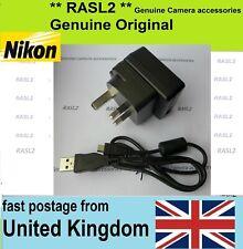 Original NIKON EH-73P Charger + USB Cable CoolPix B700 DL18-50 DL24-85 DL24-500