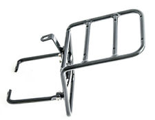 Aluminum Black Front Cargo Bicycle Rack Commuting Touring NEW