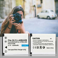 Rechargeable Camcorders Battery 1200mah For OLYMPUS Camera For Li-40B/42B-S XJB