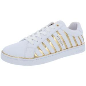 Guess Womens Boiler Low Top Lifestyle Metallic Fashion Sneakers Shoes BHFO 2451
