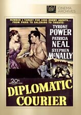 Diplomatic Courier 1952 (DVD) Tyrone Power, Patricia Neal, Stephen McNally - New