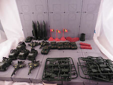 army men plastic soldiers lot accessories! model trees 111111