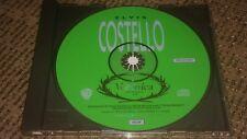 "ELVIS COSTELLO W/ PAUL MCCARTNEY ""VERONICA"" RADIO STATION DJ PROMO CD"