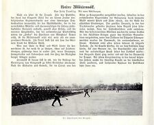 F. daussig our military music the minstrels the Brigade Wand Power Peter... 1905