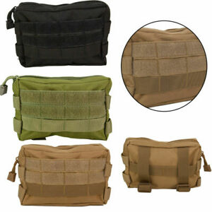 Tactical Molle Pouch Belt Waist Pack Bag Outdoor EDC Multi-purpose Phone Pocket