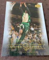 Lebron James Rookie Card 2003 Upper Deck #1 Draft Pick PSA 10?? Mint Condition!!