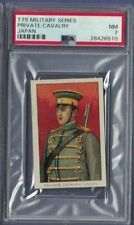 T79 Tolstoi Military 1910 Private Cavalry, JAPAN Highest Graded PSA 7 NM  Fez