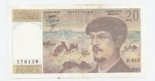 1982 Bank of France Bank 20 Francs Bank Note - 178129