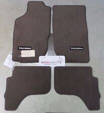 Toyota Tacoma 2001 - 2004 Double Cab Oak Carpet Floor Mats Genuine OEM OE