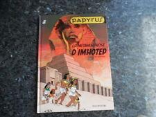 belle reedition papyrus la metamorphose d'imhotep