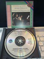 PERAHIA*LUPU*CBS JAPAN 1985*NO IFPI/BARCODE*MOZART/SCHUBERT*AS NEW*SMOOTH EDGE