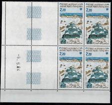 Coin daté du timbre TAAF N° 112  neufs **