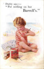 Advertising. Burrell's Paint. London. Daddy Says.
