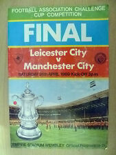 1969 FA Cup FINAL- LEICESTER CITY v MANCHESTER CITY, 26 April (Org*)