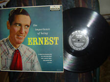 RARE-ERNEST TUBB-The Importance of Being Ernest-1959 blk label-DL-8834-3rd album