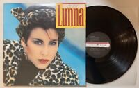 Lunna - Self Titled LP 1987 A&M SP-37022 Laitn Pop VG+/VG