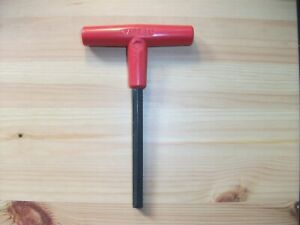"""T Handle Wrench Allen Key Short Arm 5/8"""" AF"""