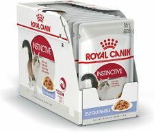 Royal Canin Wet Cat Food Instinctive Jelly Pouch 12x 85g