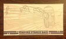 Empire Strikes Back 30th Anniversary R2D2 and  X-Wing sketch card 1/1
