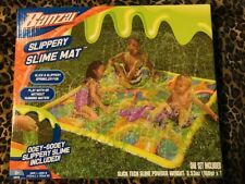 Banzai Slippery Slime Mat (Outdoor Backyard Summer Spring Slimy Slick Splash)