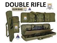 42' Double Rifle Bag Shotgun Gun storage Case Padded Hunting Back Pack Backpack