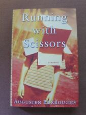 SIGNED - RUNNING WITH SCISSORS by Augusten Burroughs - 1st/2nd HCDJ  2002 movie