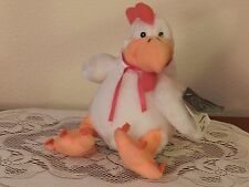 """Vintage 1988 Carousel By Guy """"Clucker's"""" The Chicken Plush Stuffed Animal 8"""""""