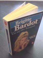 BRIGITTE BARDOT UN MITO FRANCÉS C.RIHOIT EL LIBRO DE BOLSILLO O.ORBAN 1986