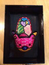 Britto Mini Show Collection Slipper Figurine  New In Box