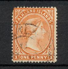 (NNAU 138) FALKLAND ISLANDS 1891 USED MICH 9A SC 11
