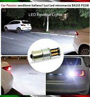 LAMPADINA RETROMARCIA 15 LED BA15S P21W BMW SERIE 1 CANBUS 6000K NO ERRORE