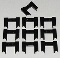 Lego Lot of 10 New Black Wedges 3 x 4 x 2/3 Cutout Car Vehicle Pieces