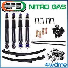 "Great Wall V200 V240 EFS Shock +Torsion Bar + Leaf Spring 2"" 50mm Lift Kit"