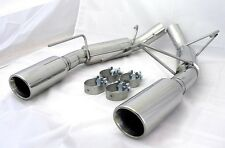 SSS Exhaust 2005 -2010 Mustang GT Terminator Axle Back 304 Stainless Steel S197