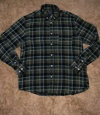 Primark Men's Regular Fit Multicolor Green Button Down Shirt Size XL