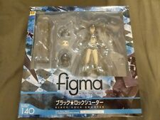 Figma 140 Black Rock Shooter Action Figure Max Factory New Sealed