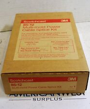 Scotchcast 3M  85-12 Multi-mold Power Cable Splice Kit New in Box